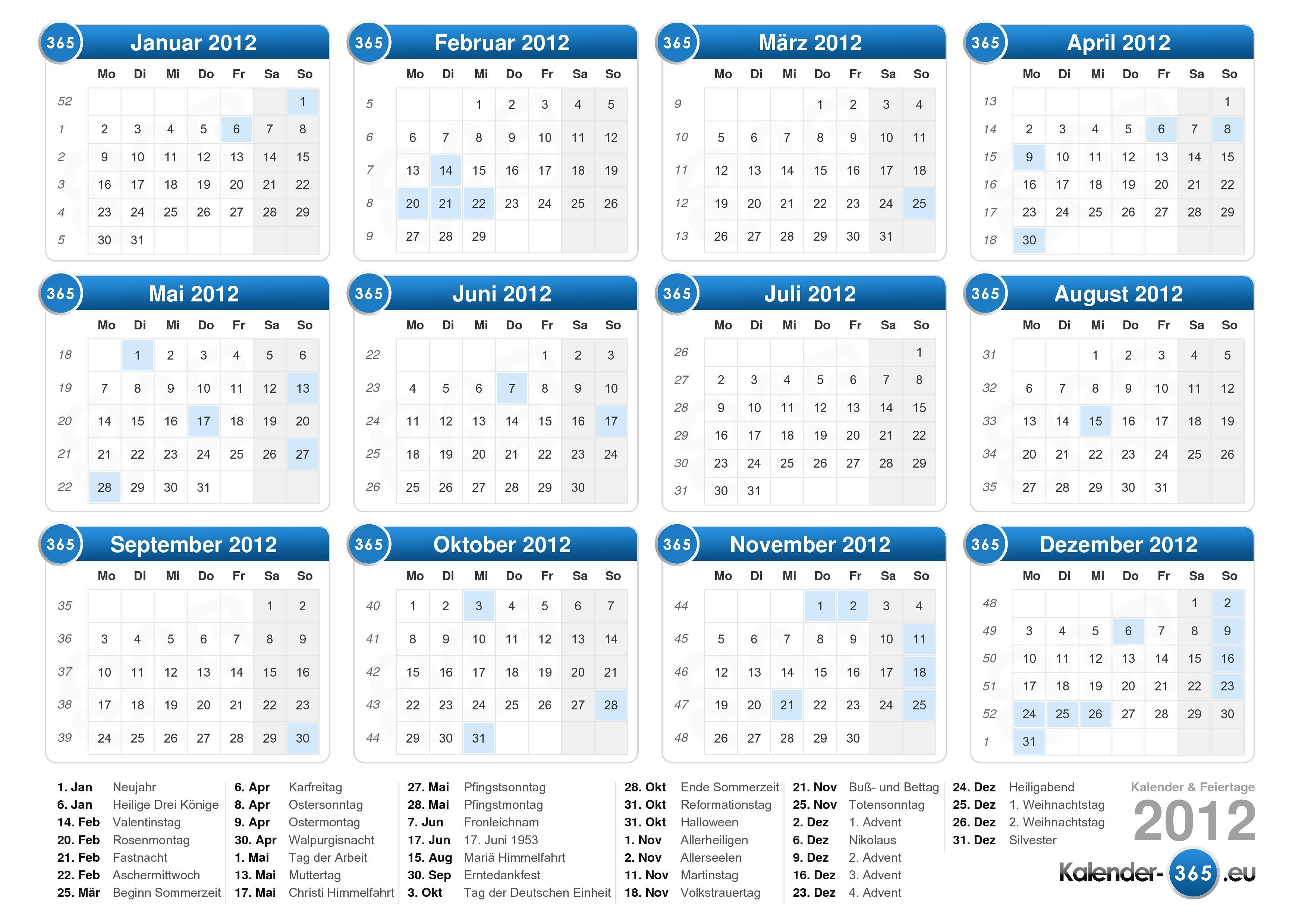 Kalender 20