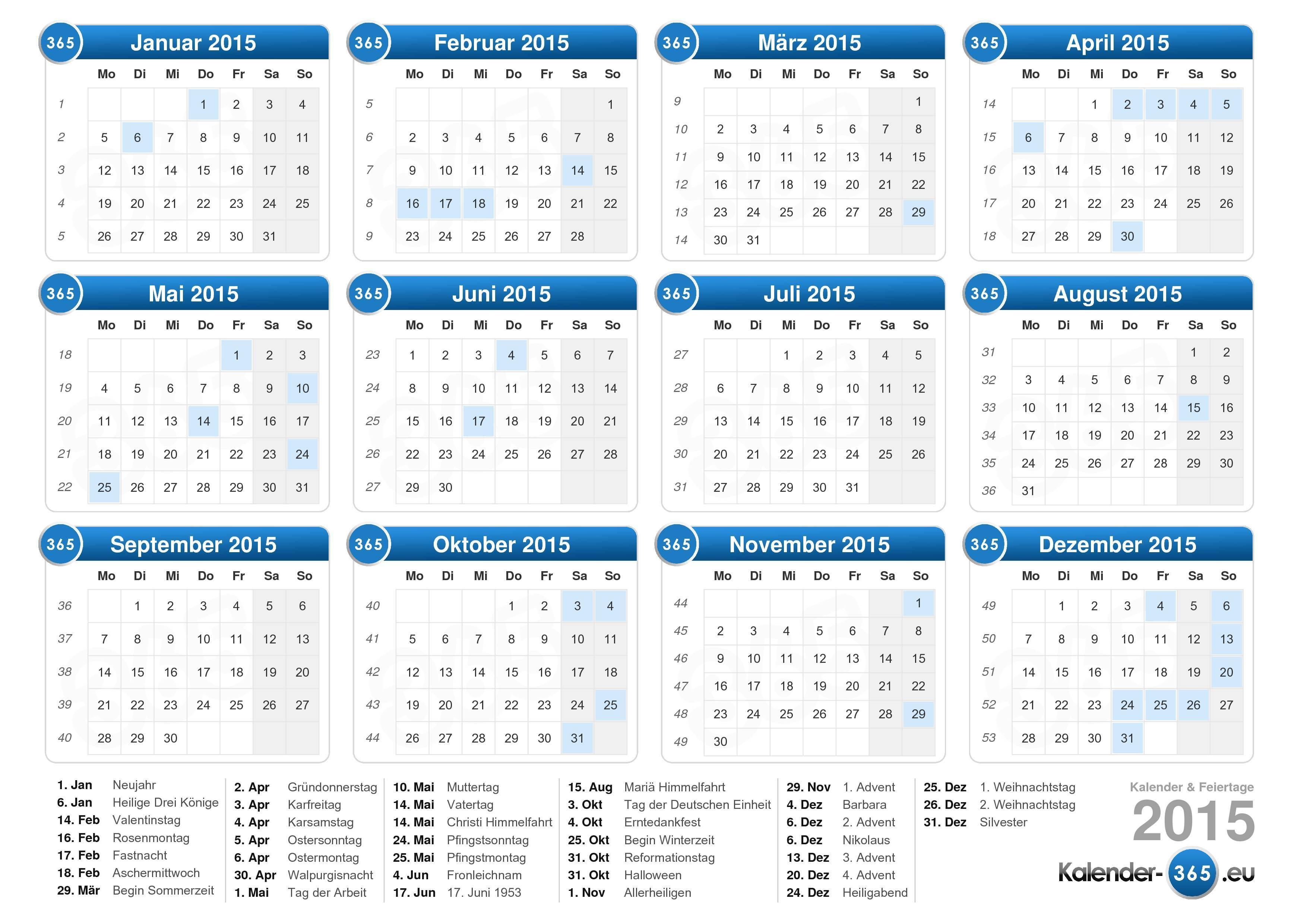 Kalender 2015 Images - Card Design And Card Template