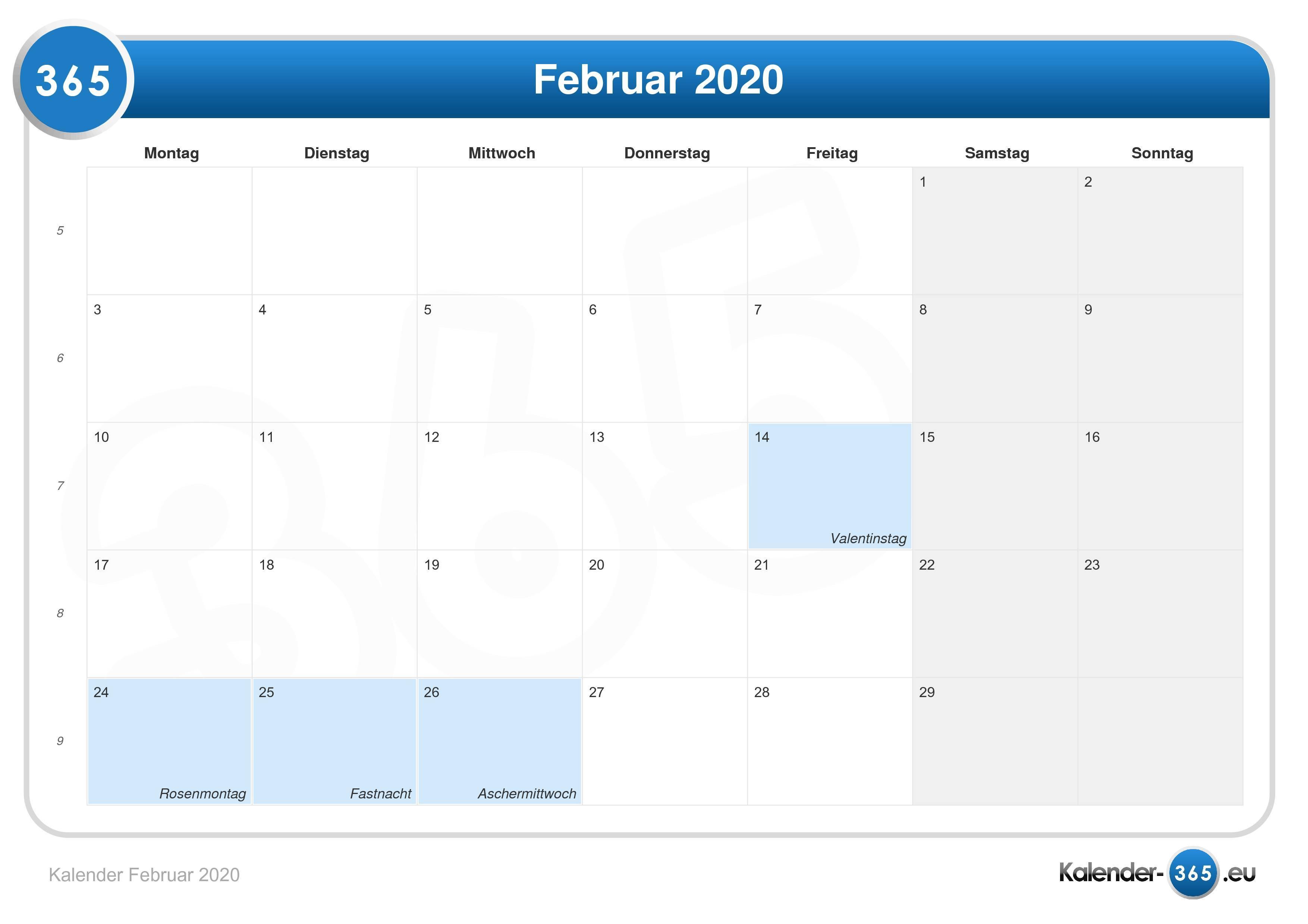 Aschermittwoch 2020 Feiertag