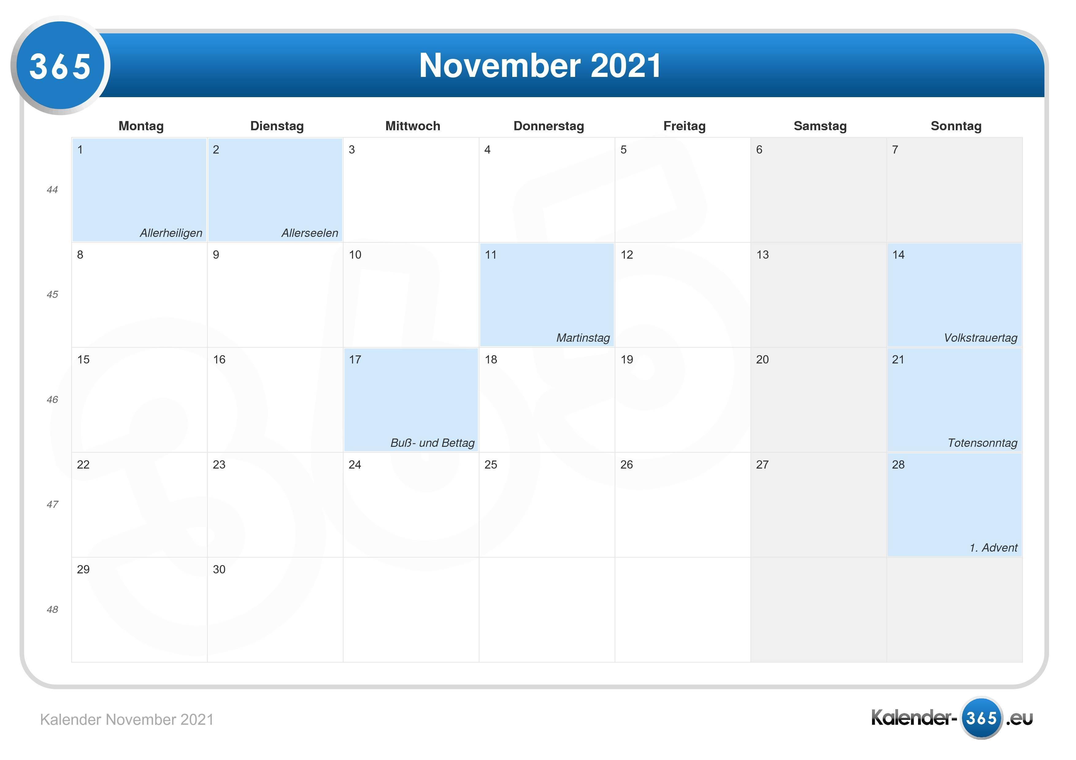 Kalender 2021 Advent